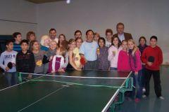 Tischtennisweltmeister Ding Yi zu Gast