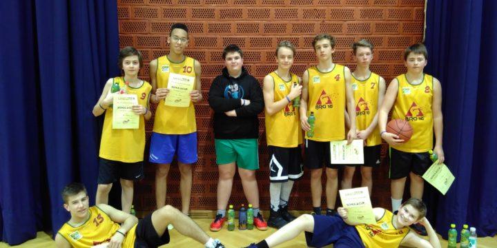 4. Platz beim Basketball-Schulcup der 3. und 4. Klassen!