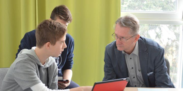 Rezertifizierung der eEducation Austria Expert.Schule BRG 18