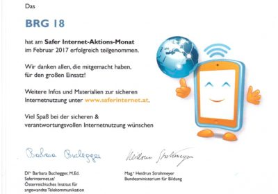 """Safer Internet""-Aktionsmonat"