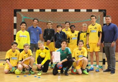 Wr. Vizemeister im Unterstufen-Handball