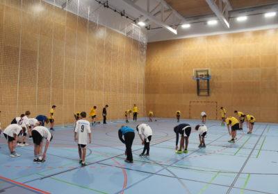 Handballturnier Unterstufe: 4. und 13. Platz