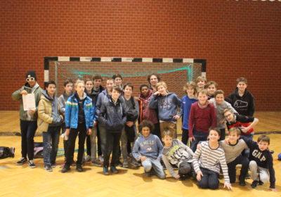 Handball Schulcup 3. und 11. Platz