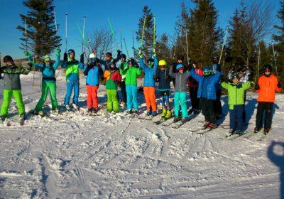 Das BRG 18 bei den Landesmeisterschaften der Wiener Schulen im Alpinen Skilauf