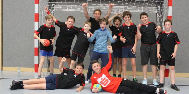 Handball 2x Wiener Meister der 1.+2. Klasse