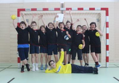 Handballturnier der 1. Klassen endet mit Überraschungssieg