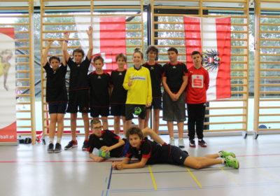 Regionalfinale Handball Wien-NÖ-OÖ 5. Platz von Halbösterreich