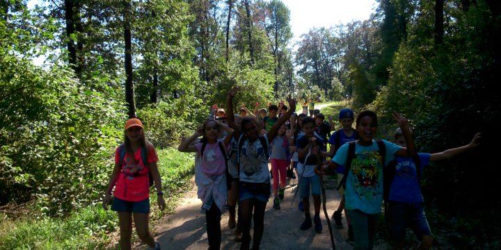Action und noch mehr gemeinsame Erlebnisse am Wandertag der 1A
