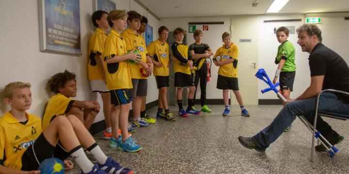 3. + 4. Klasse Handballhelden erreichen den 4. Platz beim Unterstufenturnier