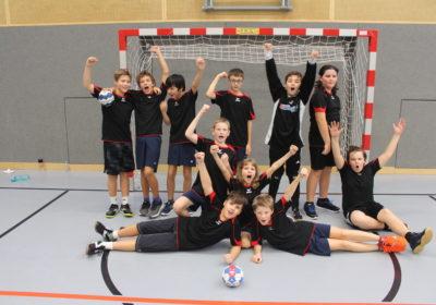 1. + 2. Klasse Handballhelden erreichen den 3. Platz beim Minihandballturnier