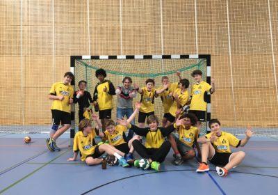 Handball Schulcup  3. und 4. Klassen 2. PLATZ!!!  SUPERSTARK!!!