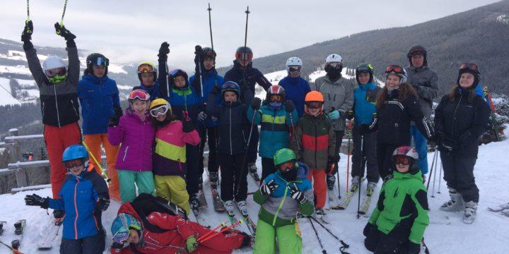 Großer Erfolg und ein aufregender Tag bei den Landesmeisterschaften der Wiener Schulen im alpinen Schilauf