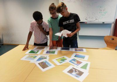"""""""Ein Bild sagt mehr…"""" Projekt Bibelpuzzle . Evangelische Religion 4A/C"""