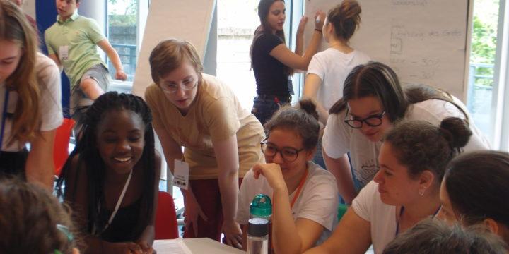 Klimaworkshop der siebten Klassen