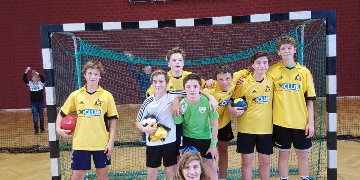 Handballturnier Unterstufe 2. und 9. Platz