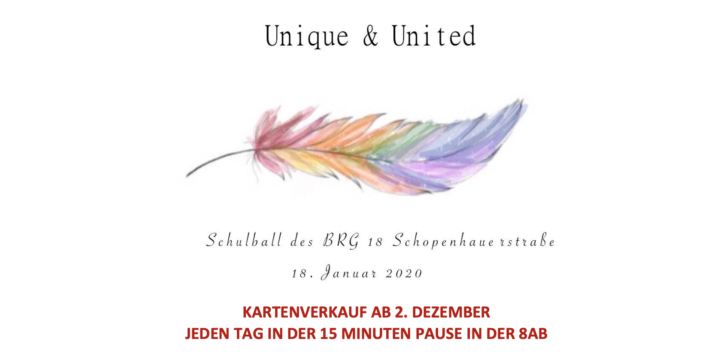 UNIQUE & UNITED – Maturaball 2020