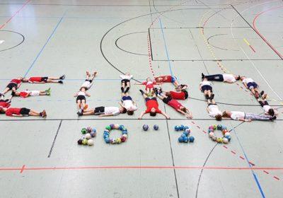 Eine Schule im Handball-Europameisterschaftsfieber!