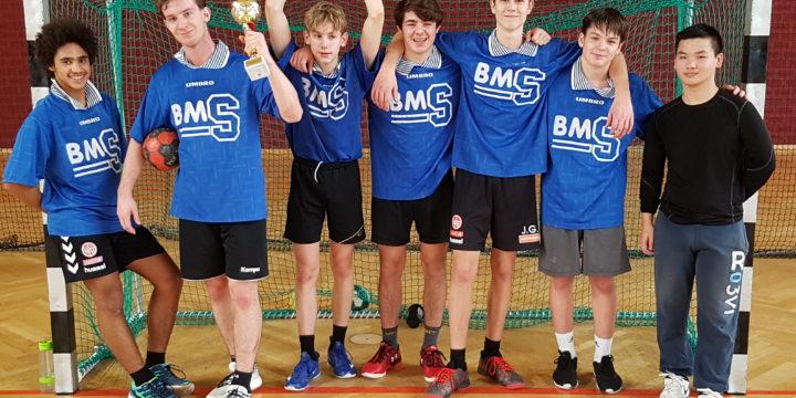 Handball Schülerliga Oberstufe 2. Platz