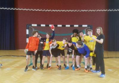 Schulcup Handball Sieger des Qualifikationsturniers