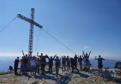 Kein Berg zu hoch kein Weg zu weit – Wandertag der 3a auf der Rax