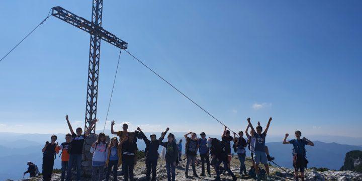 Kein Berg zu hoch, kein Weg zu weit – Wandertag der 3a auf der Rax
