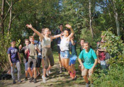 Wandertag der 7b durchs Liesingbachtal
