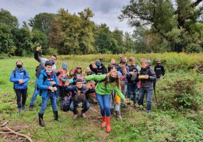 Die 3A erforscht die Welt der Biologie im Nationalpark Donau-Auen