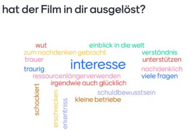 """""""Zeit für Utopien"""" – Filmtag in der 5A und 7C"""