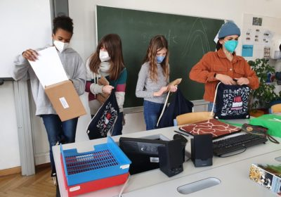 Berufsorientierung in den 3.Klassen