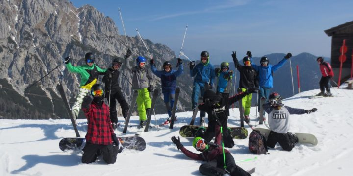 Wintersportwoche 3ABCD in Tröpolach/Nassfeld